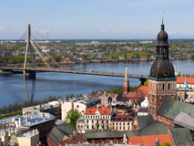 Riga Foto de archivo libre de regalías