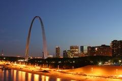 Riga 3196 del cielo di St. Louis Fotografia Stock Libera da Diritti