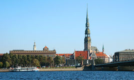 Riga. Latvia, Peter's church Royalty Free Stock Photography