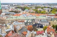 Riga aerial view Stock Image