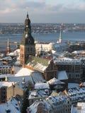Riga-alte Stadt Lizenzfreies Stockfoto