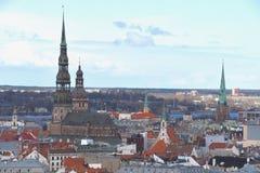 Riga-alte Stadt Lizenzfreies Stockbild