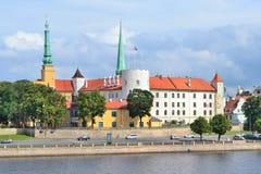 Riga-alte Stadt Stockfotografie