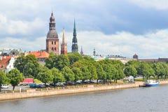 Riga-alte Stadt Stockbilder