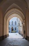 Riga, arco da guilda grande Fotografia de Stock