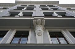 Riga arkitektur, Brivibas 61 Royaltyfria Bilder