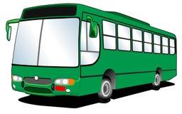 Linea arte 02 del bus Fotografia Stock Libera da Diritti
