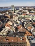 Riga au printemps 2018 Photo stock