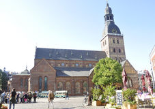 Riga August 22 2014-Cathedral from Riga in Latvia Royalty Free Stock Images