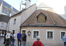 Riga August 22 2014-Historic Buildings from Riga in Latvia Royalty Free Stock Photos