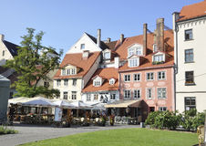 Riga August 22 2014-Historic Buildings from Riga in Latvia royalty free stock image