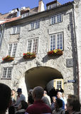 Riga August 22 2014-Historic Buildings from Riga in Latvia Royalty Free Stock Photo