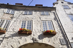 Riga August 22 2014-Historic Buildings from Riga in Latvia royalty free stock photos