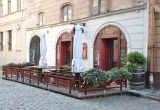 Riga august 22 2014 - Historic Center from Riga in Latvia stock image
