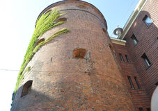 Riga august 22 2014 - Powder Tower from Riga in Latvia Stock Photography