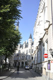 Riga august 22 2014 - Street from Riga in Latvia Royalty Free Stock Images