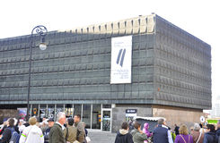 Riga 22 augustus 2014-beroep Museum van Letland van Riga Stock Afbeelding