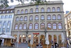 Riga 22 Augustus 2014-historische Gebouwen van Riga in Letland Stock Foto
