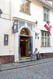 Riga 22 Augustus 2014-historische Gebouwen van Riga in Letland Royalty-vrije Stock Afbeelding