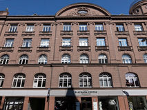 Riga, Blaumanja 5а, dettagli della facciata Fotografia Stock Libera da Diritti