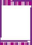 Riga bordo di colore Immagini Stock