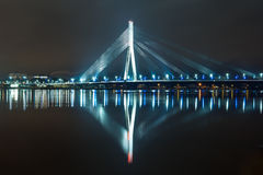 Riga bridge Royalty Free Stock Photo