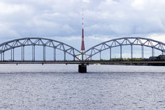 Riga bridge Royalty Free Stock Photography
