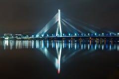 Riga bro royaltyfri foto
