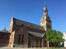 riga Capital av Lettland Royaltyfria Foton