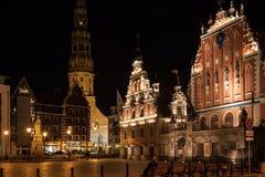 Riga - capital de Letonia. Ciudad vieja, Foto de archivo
