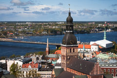 Riga. Is the capital and largest city of Latvia Stock Image