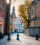 Riga is the capital and largest city of Latvia, Europe Royalty Free Stock Image