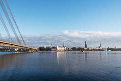 Riga, capital of Latvia. Stock Photography