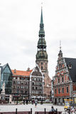 Riga - capital of Latvia. Old city, Stock Images