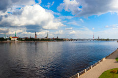 Riga, capital of Latvia. Royalty Free Stock Images
