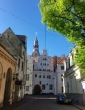 riga Capitale del Latvia Fotografie Stock Libere da Diritti
