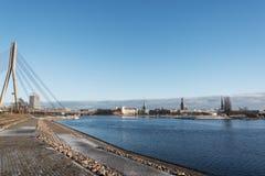 Riga, capitale della Lettonia Fotografia Stock Libera da Diritti