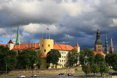Riga castle Stock Photography