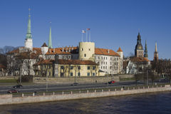 Riga Castle Royalty Free Stock Image