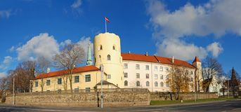 Riga Castle. Royalty Free Stock Photos