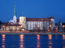 Riga Castle. Royalty Free Stock Photography
