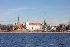 Riga Castle. Latvia Royalty Free Stock Photography