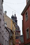 Riga CathÂedral Royaltyfri Foto