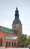 Riga Cathedral in old town. Latvia Stock Image