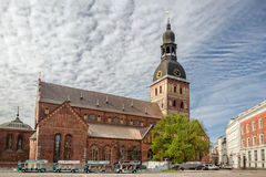 Riga Cathedral of Saint Mary Royalty Free Stock Image