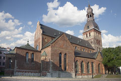 Riga Cathedral (Rīgas Doms) Royalty Free Stock Image