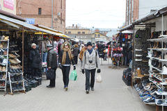 Riga Central Market. Stock Image