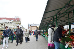 Riga Central Market. Royalty Free Stock Photography