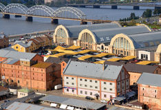 Riga Central Market Royalty Free Stock Photos