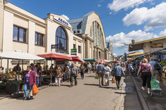 Riga Central Market Royalty Free Stock Photos